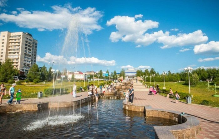 Городской парк культуры и отдыха имени Алексея Бондина