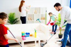 Легко и весело: делаем генеральную уборку с детьми