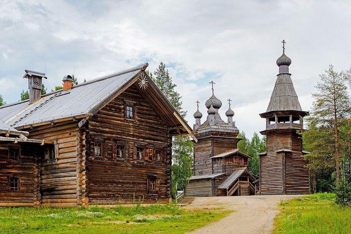 Музей деревянного зодчества «Малые Корелы»